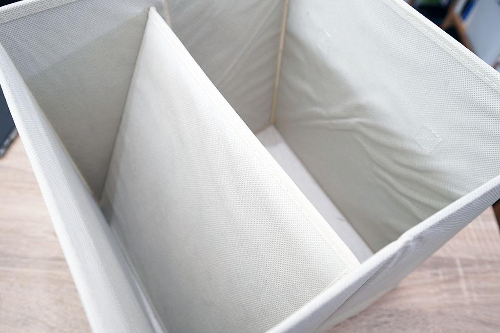 Amazonベーシック:折りたたみ式収納ボックスを組み立て