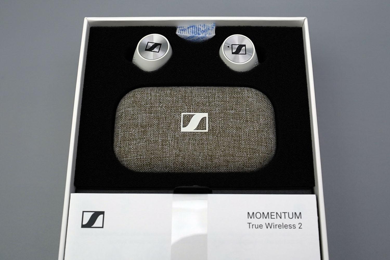 MOMENTUM True Wireless 2:パッケージを開けた所