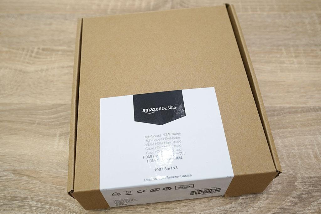 Amazonベーシック:HDMIケーブル 3m x 3本セットパッケージ