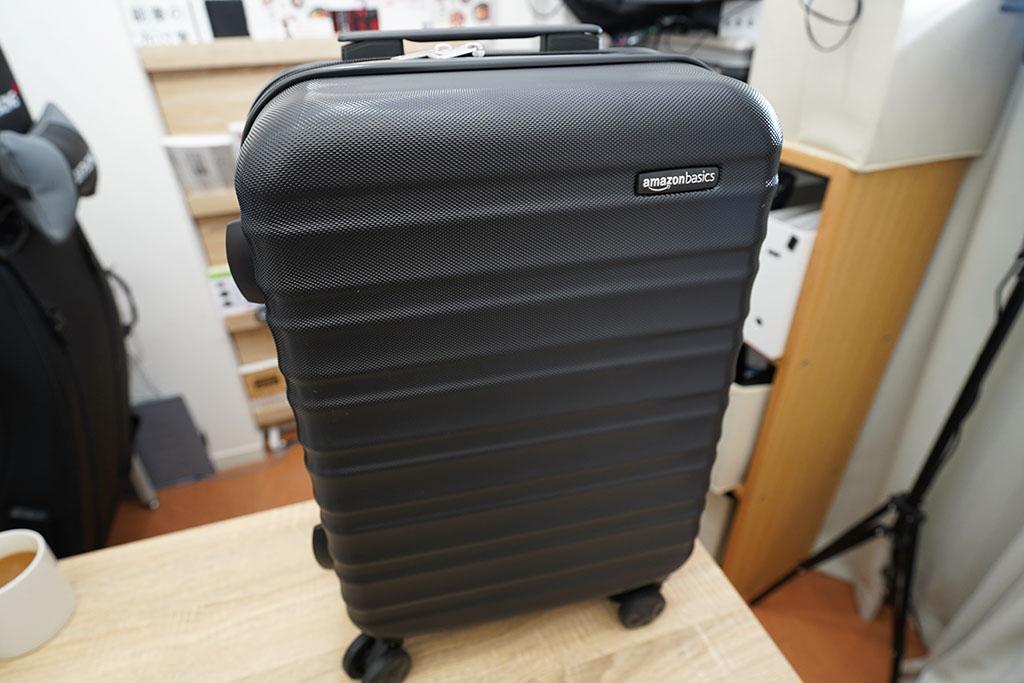 Amazonベーシック スーツケース ハードタイプ:51cmの外観