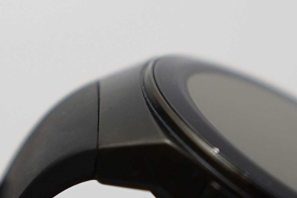 HUAWEI Watch GT 2e:表面ガラス部分のアップ