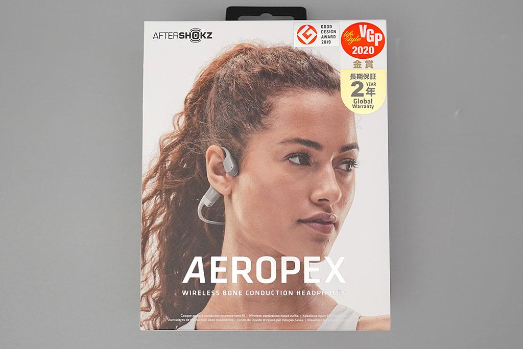 AfterShokz Aeropex:パッケージ