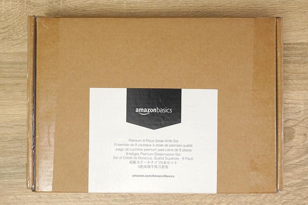 Amazonベーシック:プレミアム ステーキナイフ 8点セットパッケージ