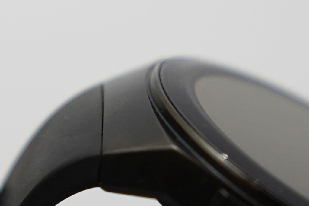 HUAWEI GT Watch GT 2eのケースのアップ