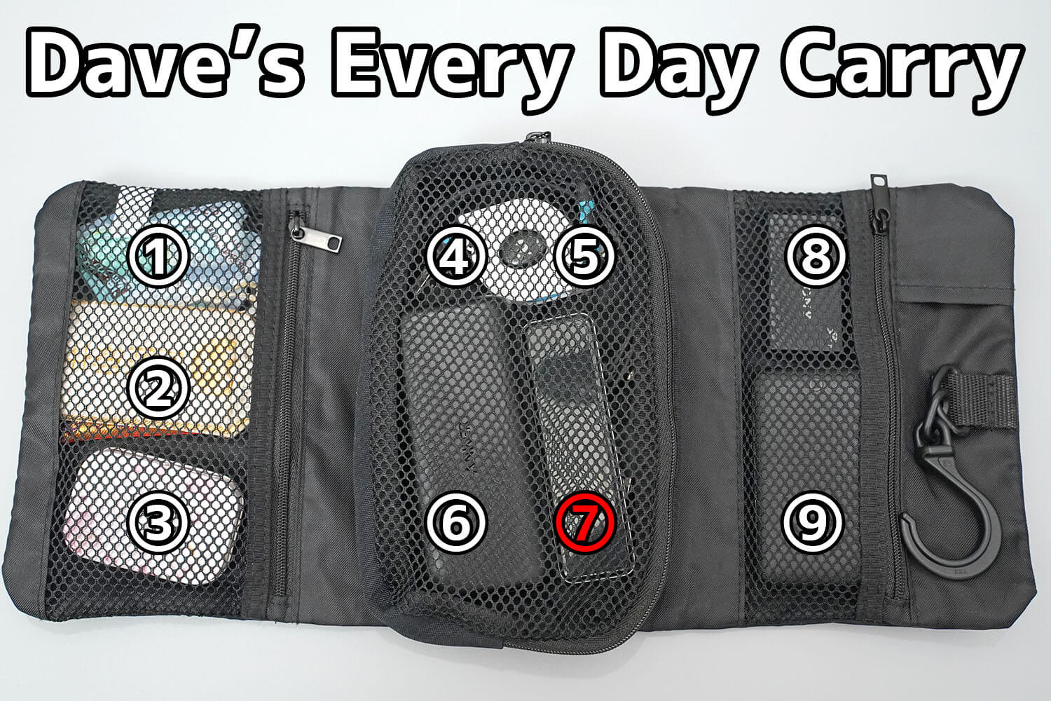 デイブのEvery Day Carry(EDC)