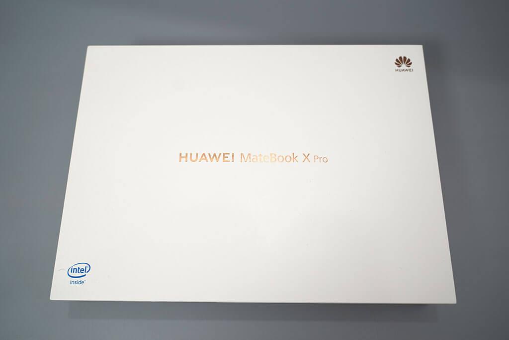 HUAWEI Matebook X Pro:パッケージ