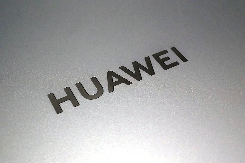 HUAWEI Matebook X Pro:HUAWEIロゴ