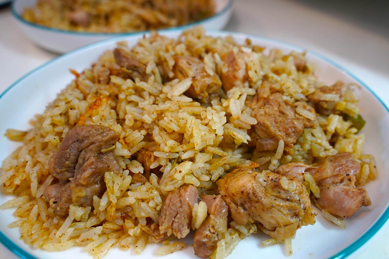 ビリヤニ再チャレンジ:美味しく炊きあがりました!