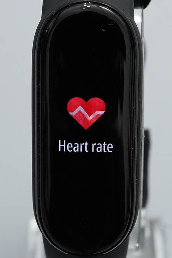 Miスマートバンド5:Heartrate(心拍数)1