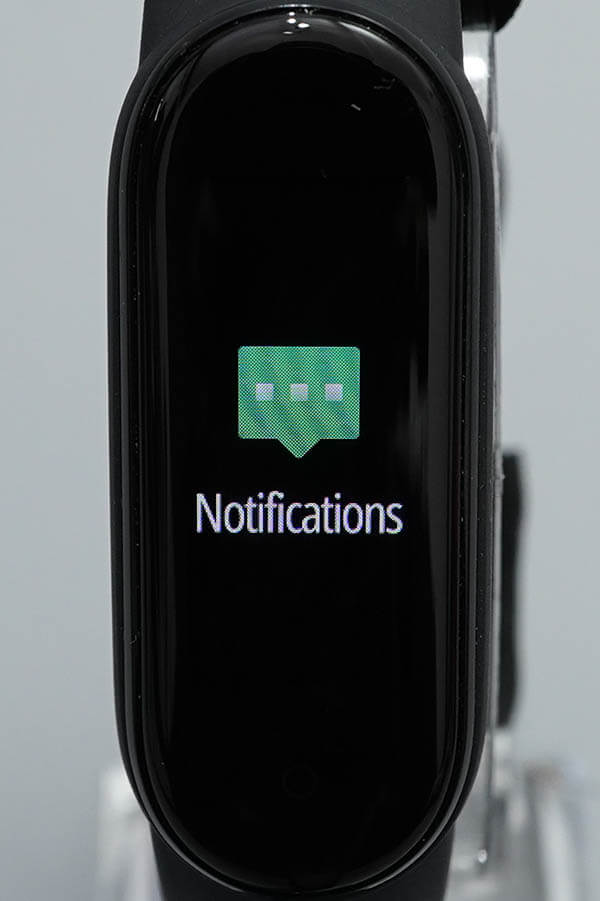 Miスマートバンド5:Notification(通知)1