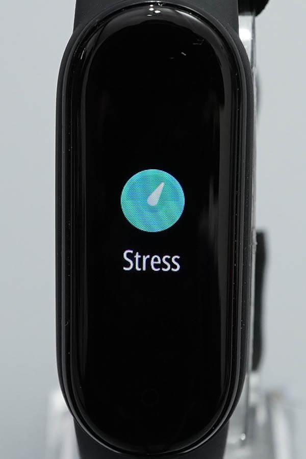Miスマートバンド5:Stress(ストレス)1
