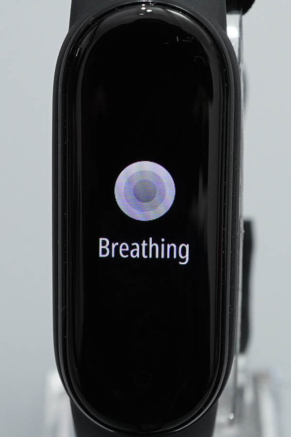 Miスマートバンド5:Breathing(呼吸法エキササイズ)1