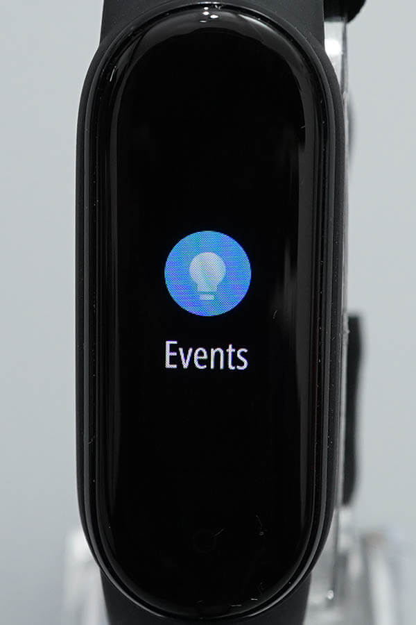 Miスマートバンド5:Events(イベント)1