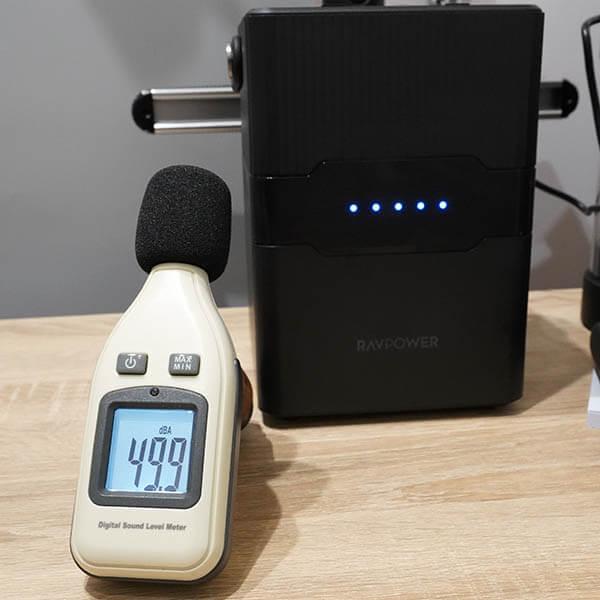 RP-PB187:ファンの騒音レベルを測定