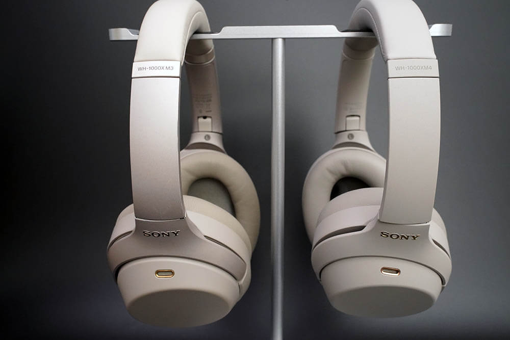 WH-1000XM4:WH-1000XM3との比較1